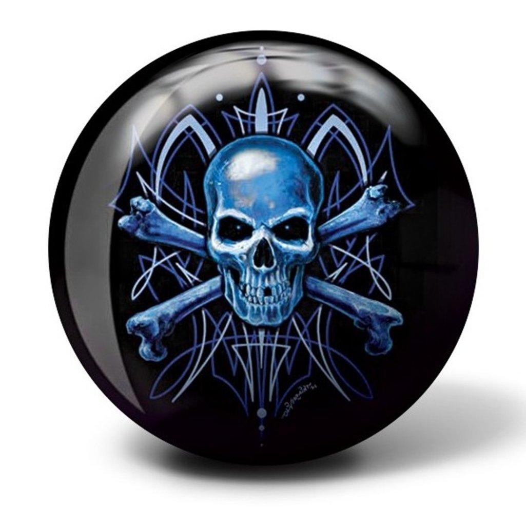 8 Brunswick Bowling Products Skull Viz A Ball Bowling Ball 8Lbs Blue//Black