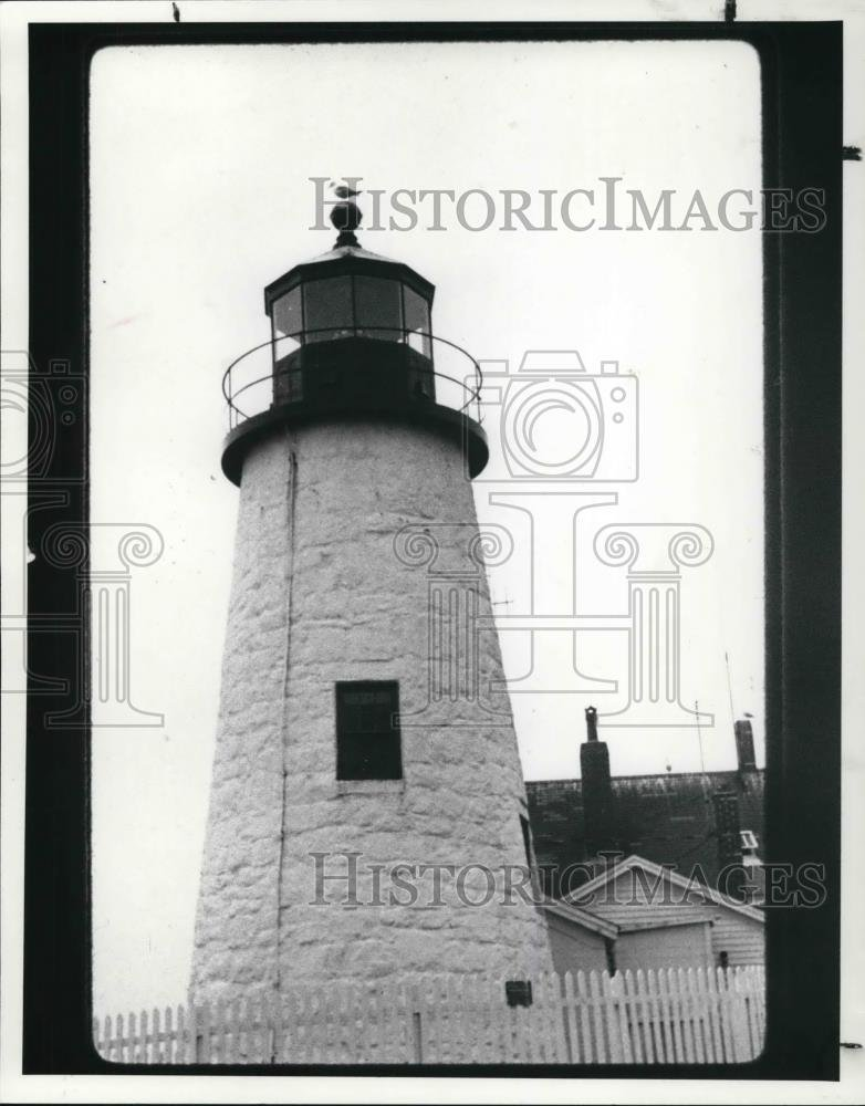 Vintage Photos 1988 Press Photo Pemaquid Point in Maine - cva22704-10.25 x 8 in. - Historic Images