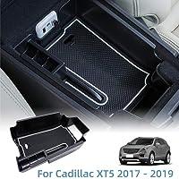 Vesul Center Console Organizer Armrest Storage Tray Fit for Cadillac XT5 2017 2018 2019 ABS Insert Organizer Glove…