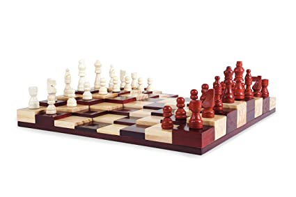 Beautiful Multi Level Chess Board Game Set
