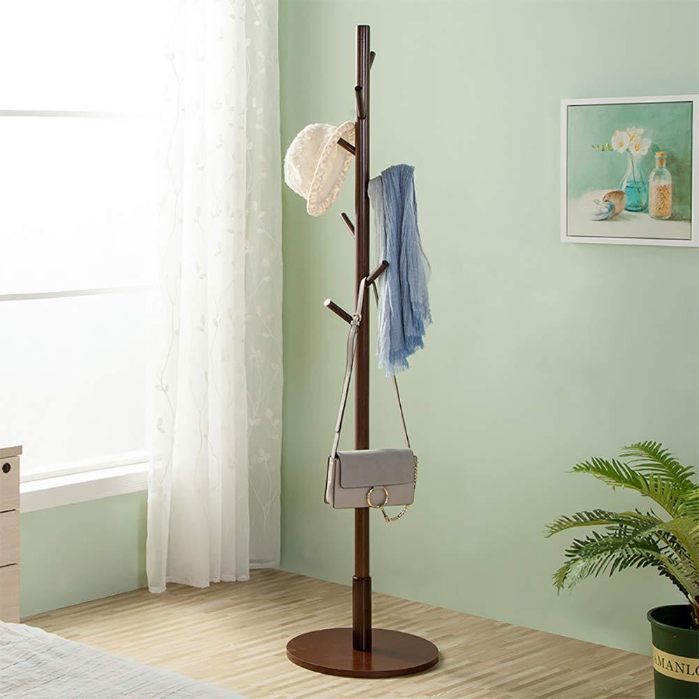 Amazon.com: KTOL - Perchero de madera moderno, soporte libre ...