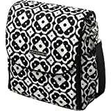 Petunia Pickle Bottom Boxy Backpack, Licorice Blossom