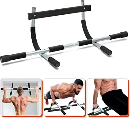 Tbest Multi-Gym Doorway Pull Up Bar and Portable Gym System,Heavy Duty Doorway Trainer for Home Gym