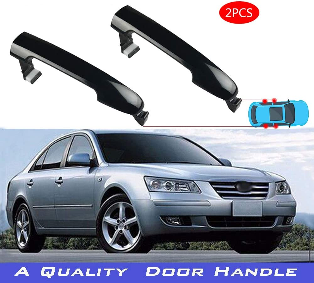 826513K000 by Unknown RH or LG Hyundai 05-10 Hyundai Mobis Sonata Genuine OEM Outside Door Handle for all Side