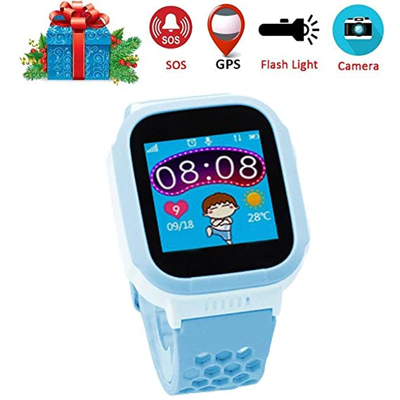 GUIGSI Reloj Inteligente para niños, Juego Reloj Inteligente de niños Reloj Inteligente para niños con Juegos de cámara Digital Pantalla táctil Reloj para ...