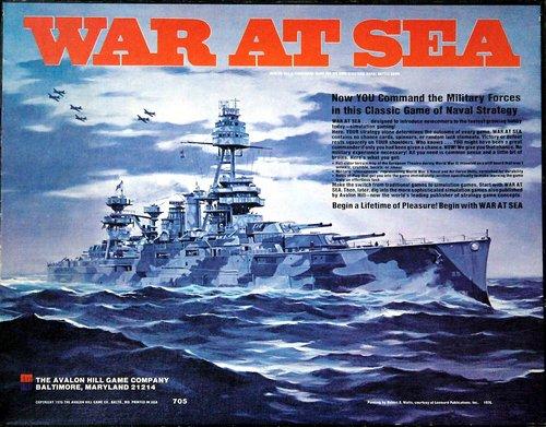 AH: War at Sea Board Game, 2nd Edition [1st AH edition]