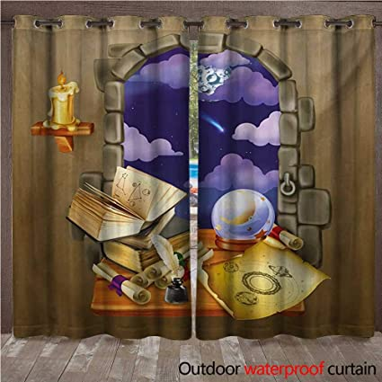 Amazon com : WilliamsDecor Astrology Outdoor Ultraviolet Protective