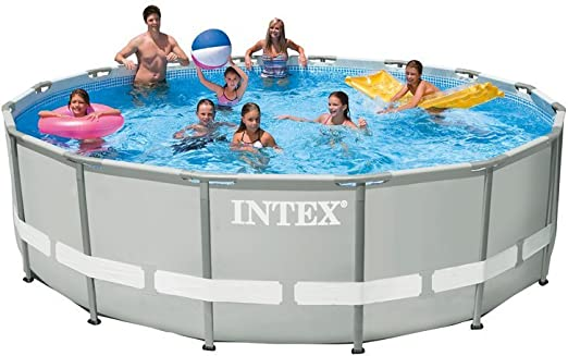 Intex 28328 Piscina Ultra Frame Redonda 488 x 122 cm I.1 cl220 ...