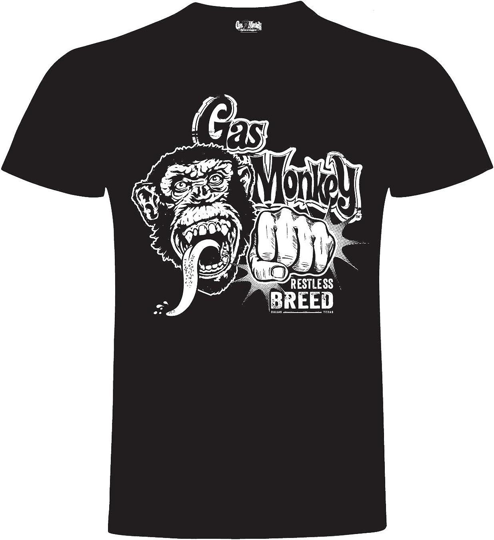 Gas Monkey Garage T-Shirt Monkey KOS The Competition Black-S ...