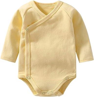 LONMEI Body para Bebés Niños y Niñas - Pijamas de Algodón Body de ...