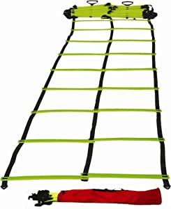 Cintz Dual Speed Agility Ladder - Comes with Anchors and Carry Bag