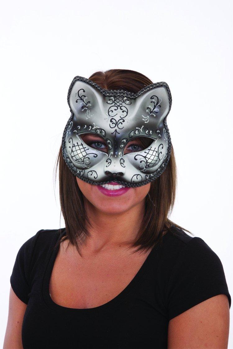 Jacobson Hat Company Black Cat Mask
