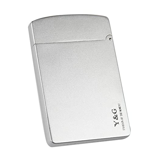 Amazon mc4001 silver alloy stainless steel business card mc4001 silver alloystainless steel business card holders credit card groomsman gift by yg reheart Images
