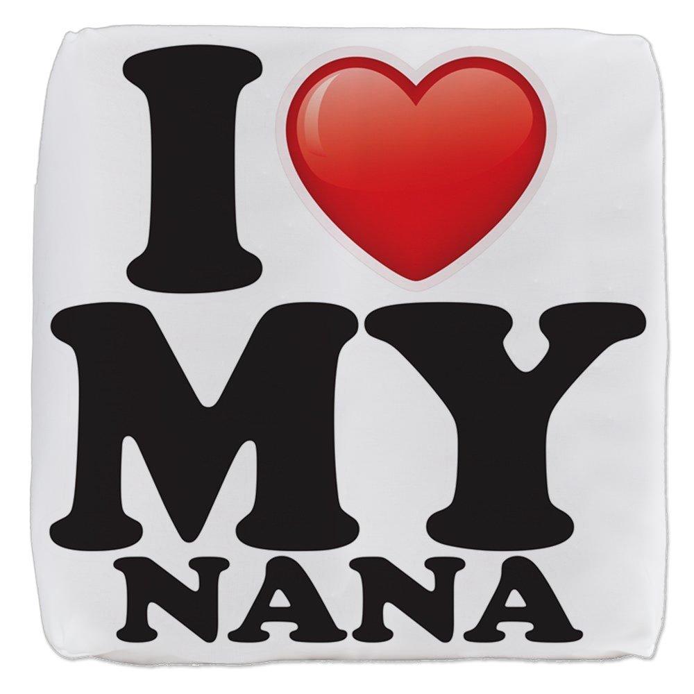 13 Inch 6-Sided Cube Ottoman I Love My Nana Grandma Grandmother by Royal Lion (Image #1)