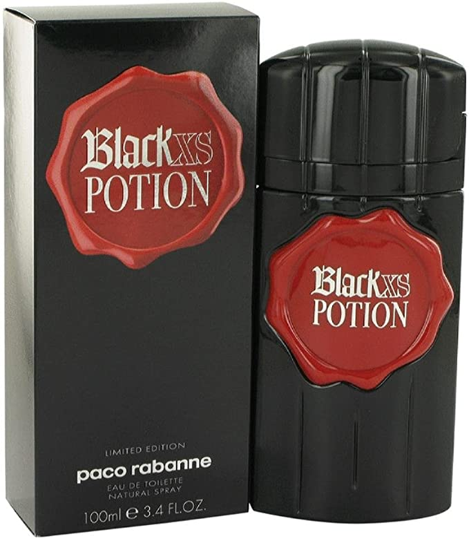 Paco Rabanne Black XS Potion Men 100ml EDT Spray ...