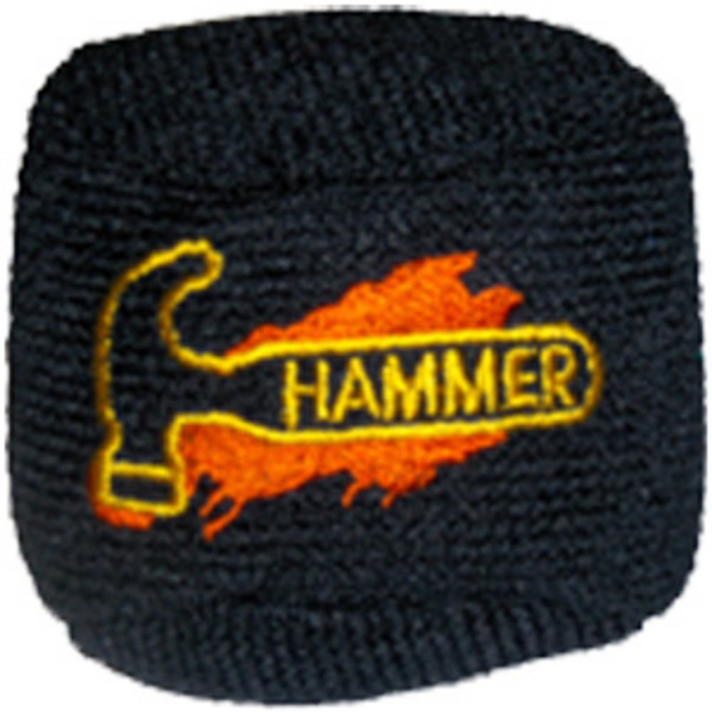 Hammer Bowlingkugel Mikrofaser-Ball, Schwarz 029744398730