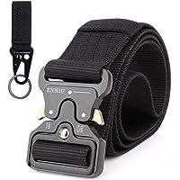 Hairwilly Cinturón Táctico & # xFF0C; 4,3cm rápidamente Desbloquear multifunción Aleación de Zinc Hebilla Cinturones de Nylon Materiales