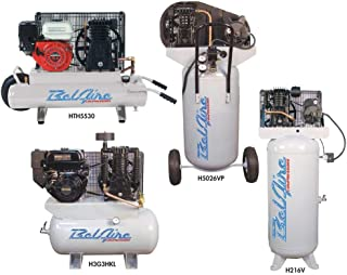 product image for BelAire 318VN 5 HP 80 Gallon 1-Phase Vertical 2 Stage Air Compressor