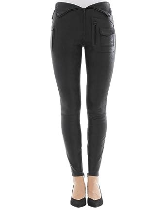 exquisite design top style new design RTA WF7LE176 Women's Black Leather Pants at Amazon Women's ...
