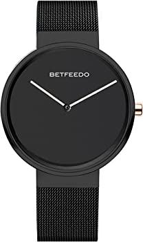 BETFEEDO Waterproof Analog Quartz Dress Watch