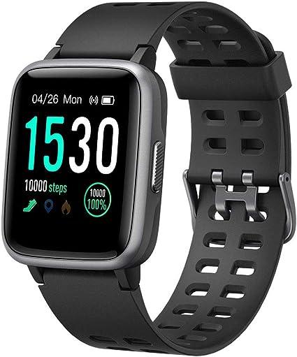 Willful Montre Fitness Tracker Smartwatch Android iOS Cardiofréquencemètre de Poignet Smart Watch Homme Femme Enfants Podomètre Calories Course Sport