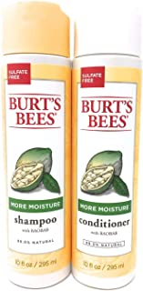 product image for Burt's Bees More Moisture Baobab Shampoo and Conditioner Combo 10 fl oz.