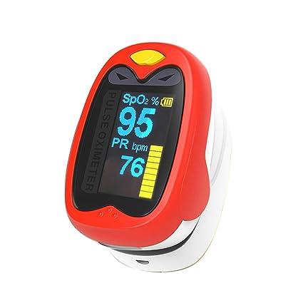 ELEVENSES - Oxímetro digital de pulso para bebés y niños, con monitor de saturación de