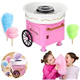 Nostalgia Vintage Hard and Sugar Free Countertop Cotton Candy Maker, Mini Cotton Candy Maker for Kids,Classic Cotton…