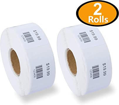 DYMO LabelWriter Multipurpose Labels 1 x 1 White 750 Labels//Roll 30332