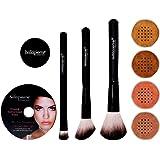 BellaPierre Get Started Foundation Makeup-Set, Deep (dunkel)