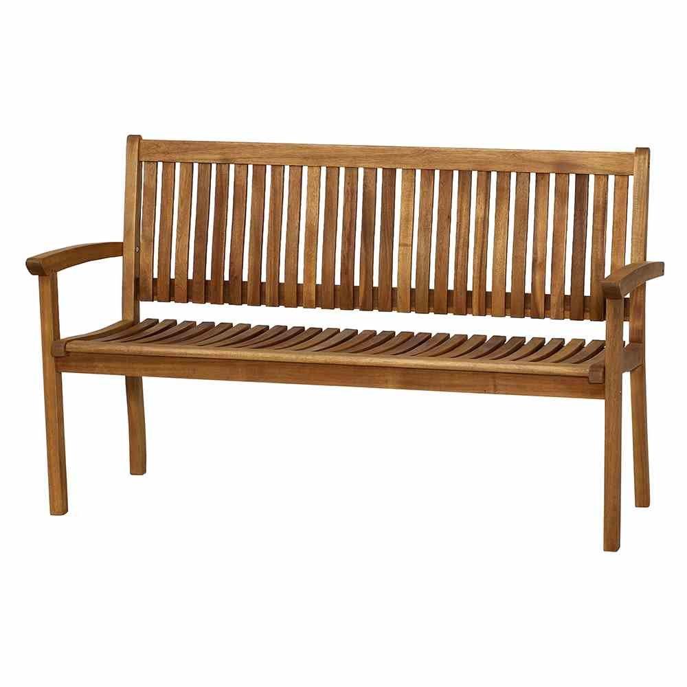 Siena Garden 120513 3er Bank Paleros Akazienholz FSC® 100% Beschläge aus galvanisiertem Stahl