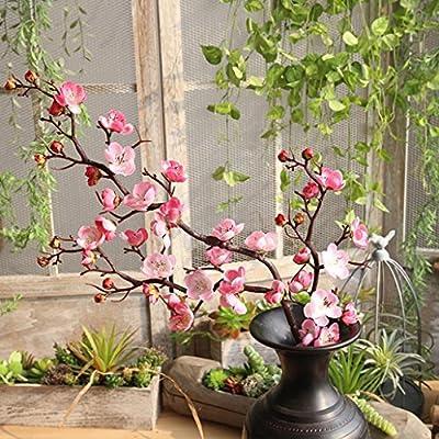 1 Stück Real Touch Künstliche Pflaumenblüten Blume Gefälschte