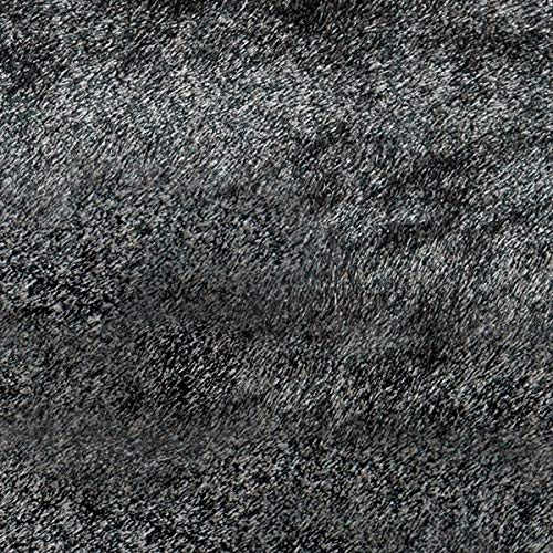 Momeni Rugs LSHAGLS-01CAR5070 Luster Shag Collection, Hand Tufted High Pile Shag Area Rug, 5' x 7', -