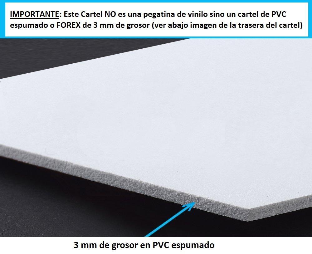 tualarmasincuotas.es ▷ Cartel Zona Videovigilada A5 Interior/Exterior, Cartel Disuasorio PVC expandido, Placa Disuasoria 21x15 cm, Amarillo ◁: Amazon.es: ...