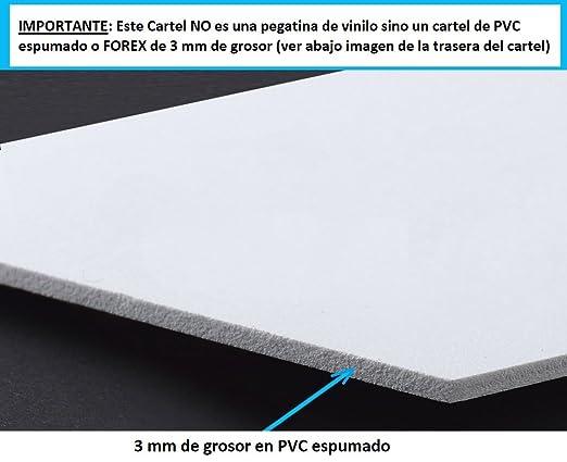 Pack o Lote de 3 Carteles disuasorios A4 Interior/Exterior, Placa disuasoria PVC expandido, Cartel Alarma conectada, 30x21 cm, Rojo