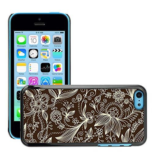 Premio Sottile Slim Cassa Custodia Case Cover Shell // V00002527 motif floral // Apple iPhone 5C