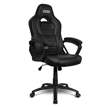 Empire Gaming - Sillón Gamer Racing 500 serieNegra - Reposabrazosultracómodos y mullidos: Amazon.es: Hogar