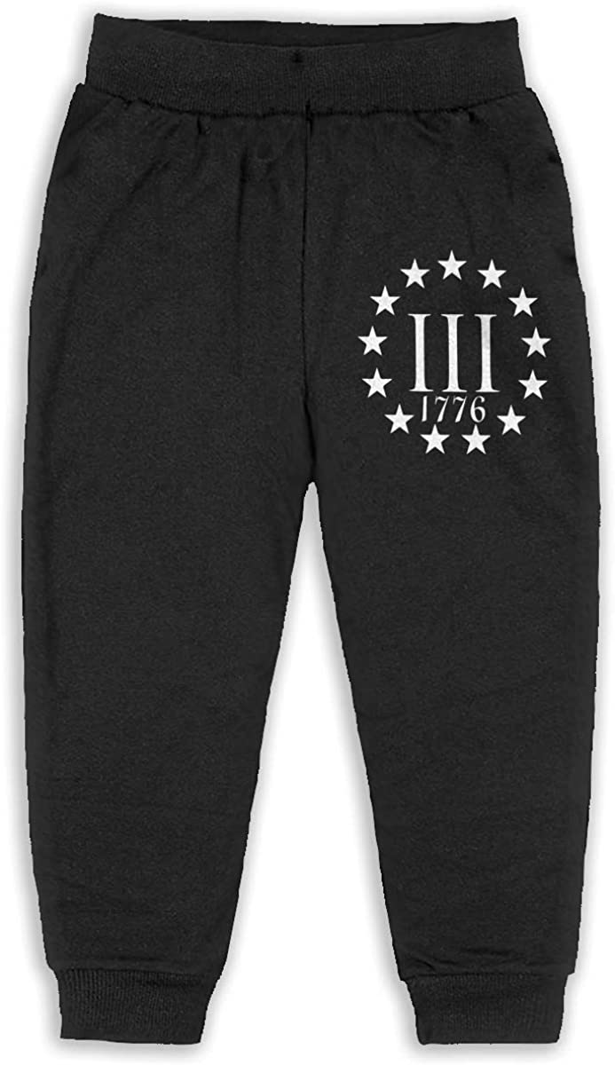 ELCW37K Kids /& Toddler Pants Soft Cozy Baby Sweatpants Labrador USA Flag Fleece Pants Sports Pants