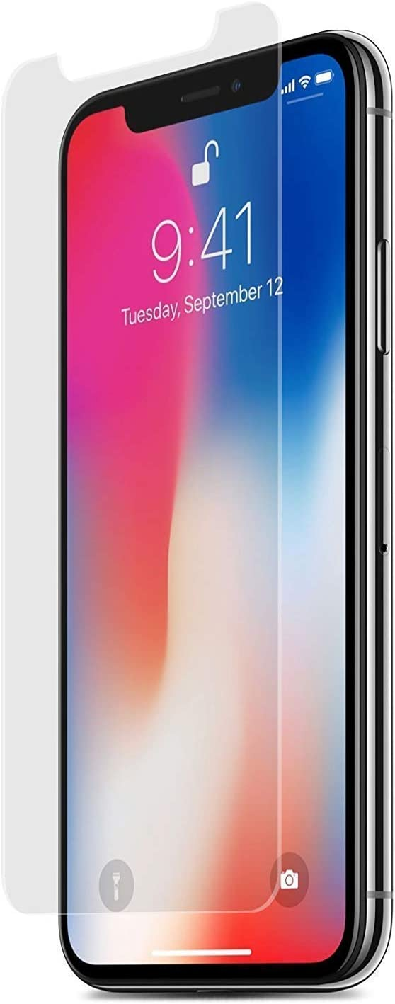 PureGear HD Clear Tempered Glass Screen Protector for iPhone Xs/X with Self Alignment Installation Tray, Touch Sensitive, Case Friendly, Lifetime Replacement Warranty