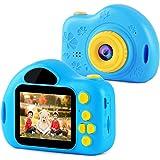 Sendowtek Cámara Digital para Niños, Cámara Niños Foto y Video HD 1080P con Pantalla de 2.0 Pulgadas, Cámara de Juguete para