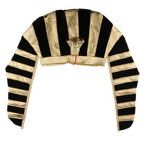 sharplace anticato nastro Testa di faraón Re D eegipto Utillaje di costumi  cappello aa8d5f791209