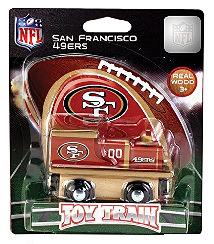 MasterPieces NFL San Francisco 49ers Toy Train