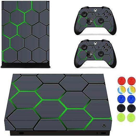 Morbuy Xbox One X Pegatina Decals Skin Adhesivo de Vinilo Stickers ...