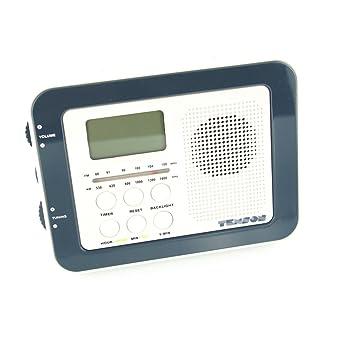 Texson Kitchen LED Under Cabinet AM/FM Radio: Amazon.co.uk: TV
