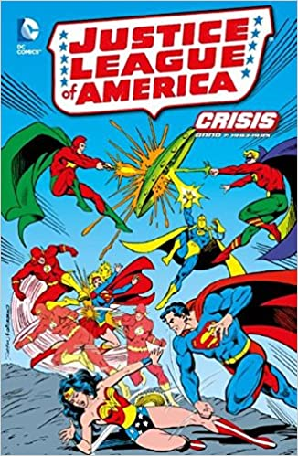 JUSTICE LEAGUE OF AMERICA CRISIS 7  SOFTCOVER