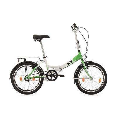 """KS Cycling Fx 300 Vélo pliant Vert 20"""""""