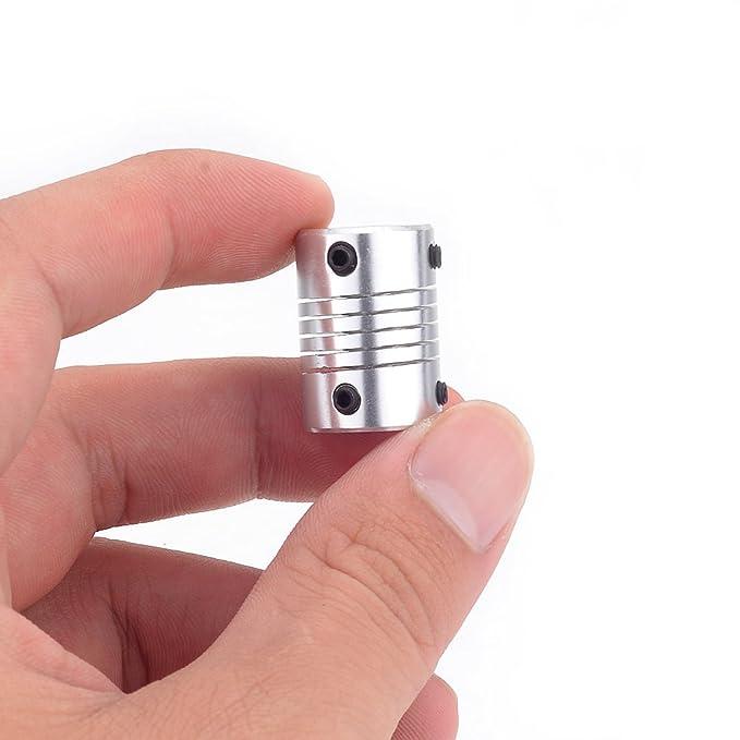 ATOPLEE 2pcs D16L23 aleación de aluminio órganos de acoplamiento ...
