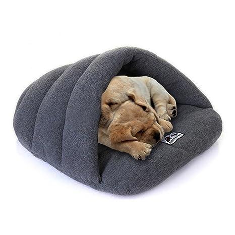 GenialES Saco de Dormir para Mascotas de Lujo Mitad Cubierto Cama Caliente Suave Cómodo para Conejo