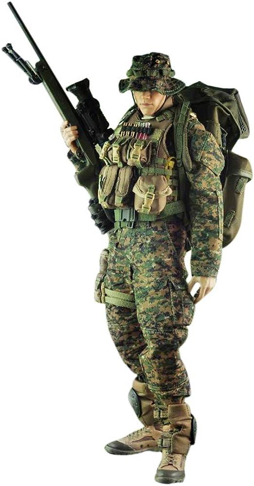 Batop - Disfraz de tirotor de élite Marina para 1/6 Soldadat ...