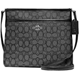 Coach Outlined Zip File Crossbody